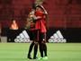 André comemora gol na estreia pelo Sport, mas lamenta vacilos do time