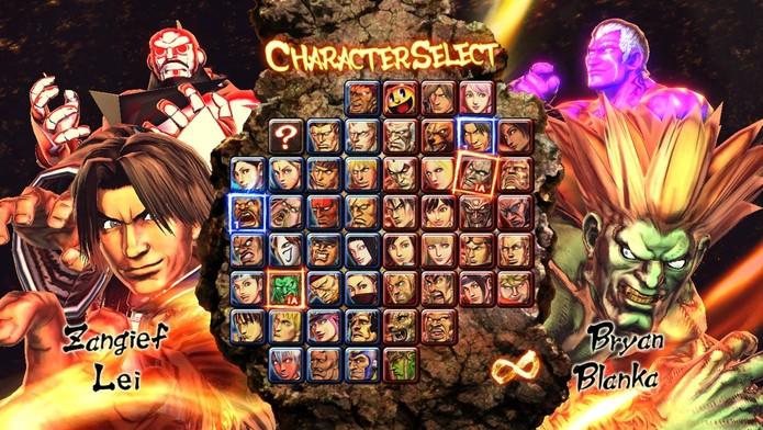 DLC de Street Fighter X Tekken já estava em disco (Foto: Divulgação/Capcom)