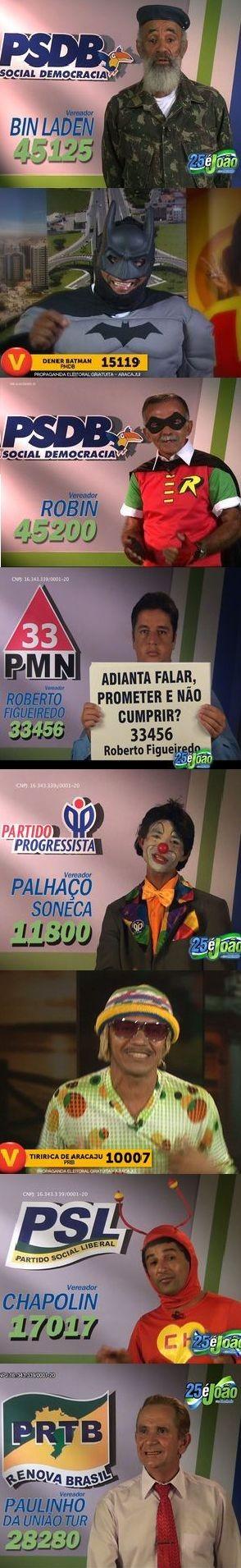 Candidatos Vereadores (Foto: Arte G1)