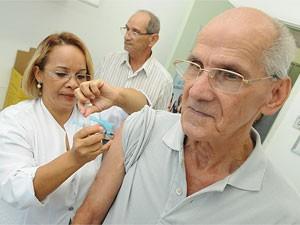 Vacinação em Campinas (Foto: Divulgação Prefeitura/ Rogério Capela)