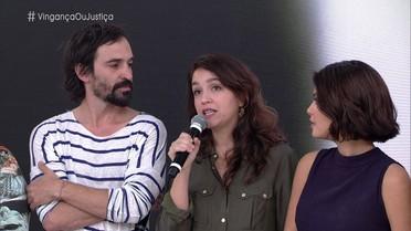 Manuela Dias se inspirou em caso real para criar história de Fátima e Douglas