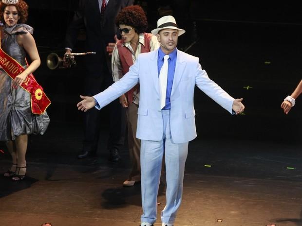 Diogo Nogueira se apresenta em espetáculo no Rio (Foto: Isac Luz/ EGO)
