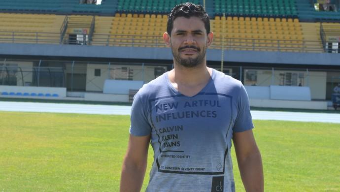 Diego Ratinho; Amapá; Futebol (Foto: Rafael Moreira/GE-AP)