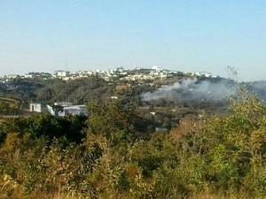 Explosão fabrica fogos de artificio Santo Antonio do Monte 4 (Foto: Grupo de Relacionamentos da Polícia Militar / Divulgação)