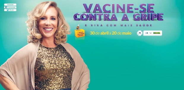 Arlete Salles lança a campanha de vacinação contra a gripe (Foto: Divulgação/Ministério da Saúde)