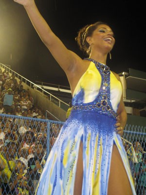 Juliana Alves (Foto: Isabela Marinho/ G1)