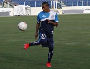 Robinho, atacante do Confiança (Foto: Osmar Rios)