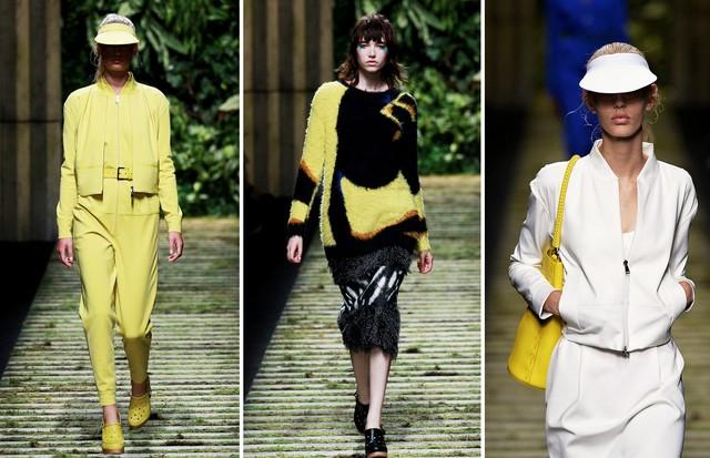 Amarelo: Max Mara (Foto: Reprodução, Getty e Antonio Barros)