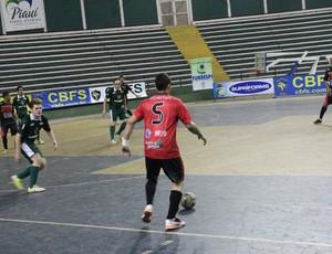 Carlos foi para o goleiro-linha pelo Cajuína (Foto: Wenner Tito/Globoesporte.com)