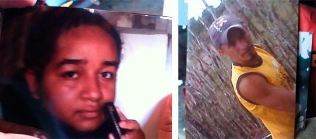 Maria do Livramento da Silva, de 21 anos, foi assassinada por Francisco das Chagas de Araújo, de 26, que depois se matou (Foto: Reprodução/Matheus Magalhães/G1)