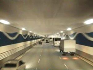 Projeto de túnel que ligará Santos a Guarujá foi alterado (Foto: Reprodução/TV Globo)