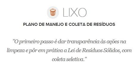 Proposta de Edivaldo Holanda para o Lixo (Foto: G1 Maranhão)