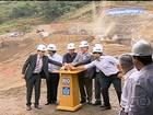 Paes e Cabral iniciam detonação para construção de Túnel da Transolímpica