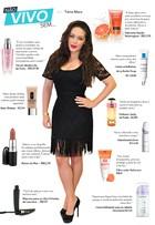Tânia Mara abre a nécessaire e lista seus produtos de beleza preferidos