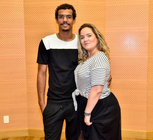 Marcello Melo Jr. e Tatyane Goulart (Foto: AgNews)