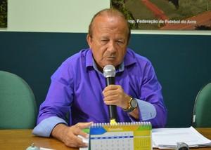 Presidente da FFAC, Antônio Aquino Lopes (Foto: Duaine Rodrigues)