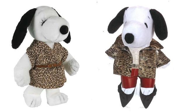 'Snoopy ganha looks de estilistas' DVF Isabel Marant (Foto: Divulgao)