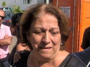 Wanda Simões de Pádua, mãe de fã de Ana Hickmann (Foto: Roberta Oliveira/G1)