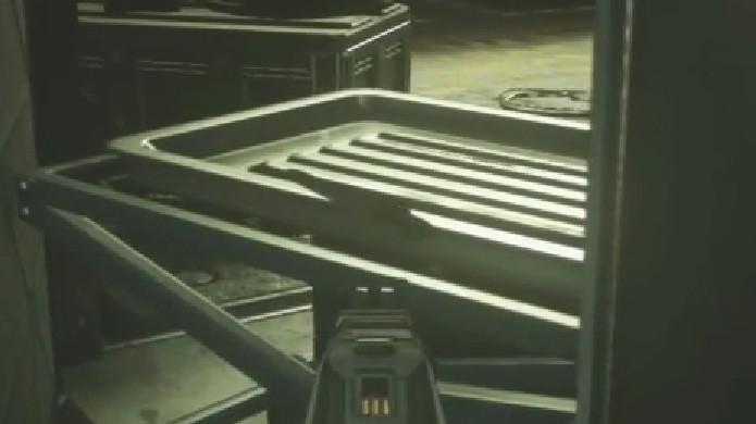 A serra é difícil de enxergar, mas interaja com ela também (Foto: Reprodução: YouTube)