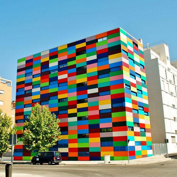 Casas coloridas ao redor do mundo (Foto: Reprodução)