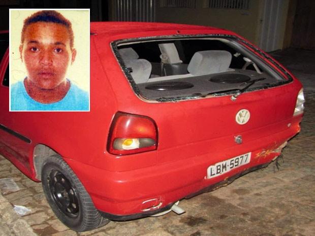 Homem morreu depois de ser atropelado após briga de trânsito em Lavras (Foto: Reprodução EPTV / Devanir Gino)