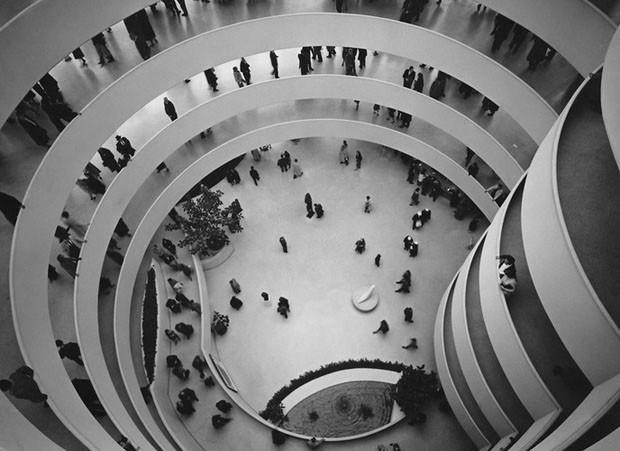 Museu Solomon R. Guggenheim, Nova York, 1959, projetado por Frank Lloyd Wright (Foto: Divulgação)