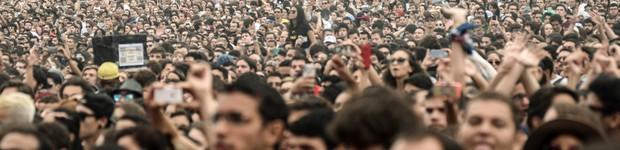Segundo dia de Lolla 2015 tem 70 mil fãs (Segundo dia de Lolla tem pop e 70 mil fãs (Segundo dia de Lolla teve pop e 70 mil fãs (Marcelo Brandt/G1)))
