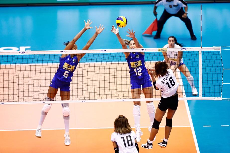 Irreconhecível, Brasil perde por 3 a 0 para Tailândia pelo Grand Prix