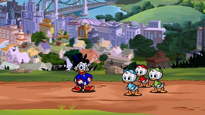 Ducktales Remastered traz as aventuras do Tio Patinhas reimaginadas agora também para o Xbox One (Foto: Reprodução/GameInformer)