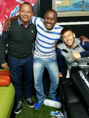 Pai do Gerson, do Fluminense, Barcelona Neymar (Foto: Arquivo Pessoal)