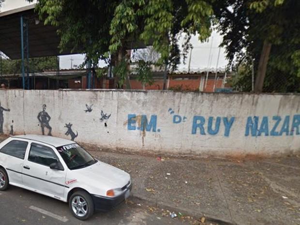 Menor foi flagrado em escola municipal de Rio Preto (Foto: Reprodução/Google Maps)