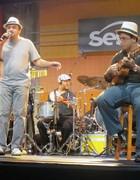 Música campeã trata do desejo  de conhecer ídolos falecidos (Rafael Sette Câmara/G1)