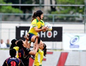 rugby sulamericano Brasil e colombia gávea (Foto: André Durão / Globoesporte.com)
