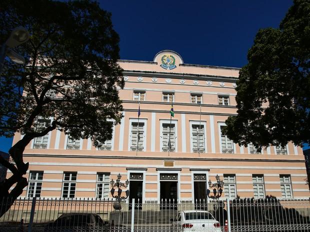 Prédio da Assembleia Legislativa de Alagoas (Foto: Jonathan Lins/G1)