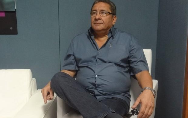 Sérgio Cabeça é o atual presidente do Clube do Remo e candidato à reeleição (Foto: Gustavo Pêna/GLOBOESPORTE.COM)
