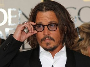 Perfil Johnny Depp (Foto: AFP)