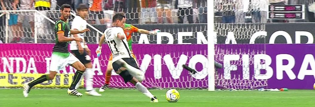 Corinthians x América-MG - Campeonato Brasileiro 2016 - globoesporte.com 569853f91b74b