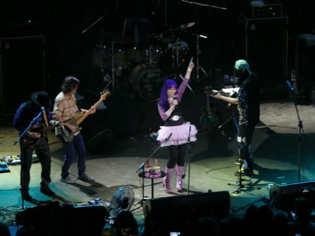 """Banda homenageou João Gilberto, com as canções 'Chega de Saudade"""" e """"Desafinado' (Foto: Manu Dias/GOVBA)"""