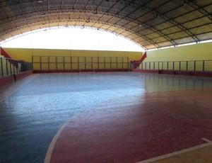 ginásio, Alto Santo (Foto: Juscelino Filho)
