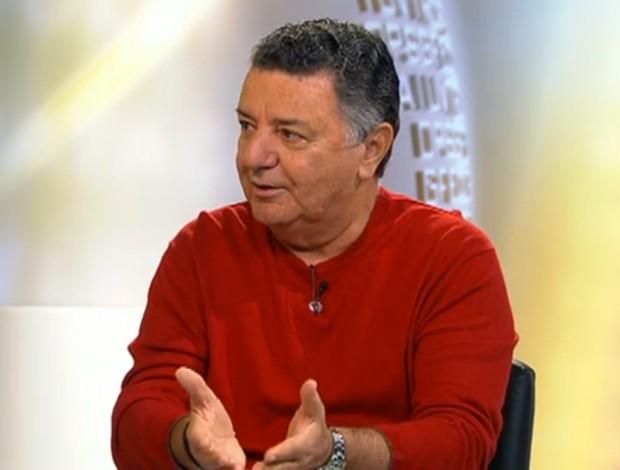 Arnaldo Cezar Coelho, comentarista de arbitragem (Foto: Reprodução SporTV)