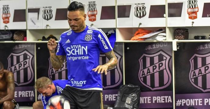 Fábio Ferreira, zagueiro Ponte Preta (Foto: Fabio Leoni/ PontePress)