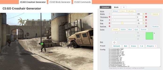 Aprenda a criar miras personalizadas para Counter-Strike Global Offensive (Foto: Reprodução/Murilo Molina)