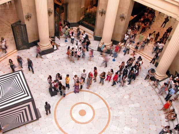 A mostra 'O mundo mágico de Escher', no Centro Cultural Banco do Brasil do Rio de Janeiro: média foi de 9.677 visitantes ao dia (Foto: Divulgação)