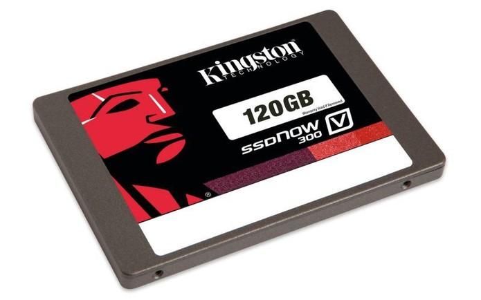 SSDNow V300 da Kingston é o mais baratinho da lista (Foto: Divulgação/Kingston)