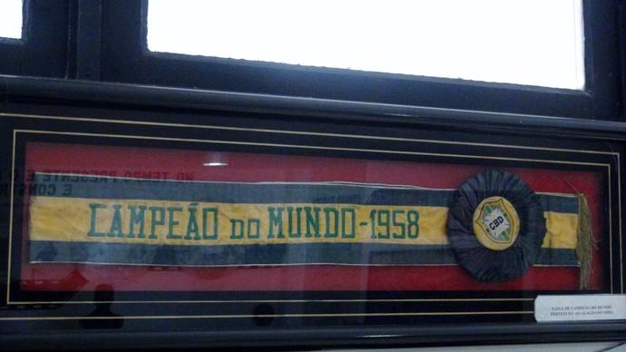 Museu dos Esportes, Rei Pelé (Foto: Paulo Victor Malta/Globoesporte.com)