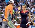 Clijsters se despede com derrota para Bruno Soares nas mistas do US Open