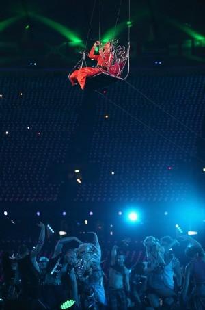 Cerimônia de encerramento paralimpíadas Rihanna (Foto: Getty Images)