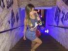 Liziane Gutierrez curte balada no Rio e conta que perdeu três quilos