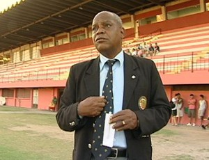 William Silva Santos, supervisor da Desportiva Ferroviária (Foto: Reprodução/TV Gazeta)