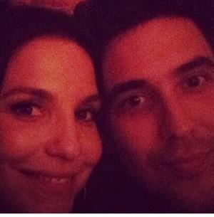 Ivete e André Marques em churrasco surpresa para a cantora (Foto: Reprodução Instagram)